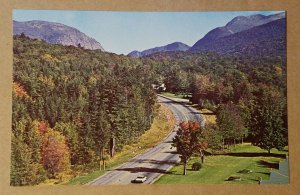Approaching Franconia Notch, New Hampshire Postcard