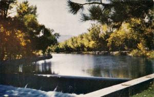 Wingfield Park Dam, On the Truckee River,Reno,Nevada,40-60s