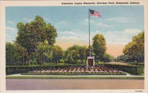 Indiana Hammond American Legion Memorial Harrison Park