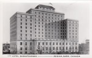 RP: Hotel Saskatchewan , REGINA , Saskatchewan, Canada , 1910-30s