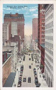 Air view,Madison Ave. looking East, Memphis,Tennessee,00-10s