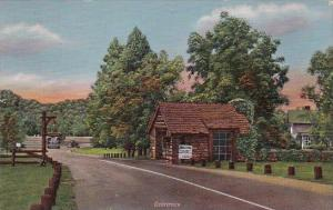 Indiana Marshall Turkey Run State Park Entrance 1951