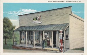 Indiana Santa Claus Cross Road Store Post Office & Gas Station sk3569