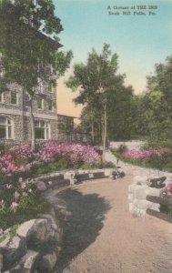 BUCK HILL FALLS, Pennsylvania, 00-10s ; A corner og THE INN
