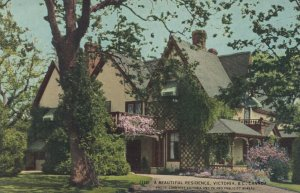 VICTORIA, British Columbia, Canada, 1900-10s; Beautiful Residence