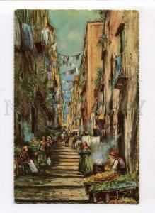 3074091 ITALY Napoli Gradoni di Chiaia  Vintage colorful PC