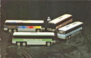 Mechanicsburg PA Royal Coach Collectors Toy Bus Postcard