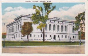 Michigan Detroit Public Library 1932