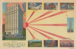 NEW YORK CITY , 1930-40s ; Hotel Park Chambers