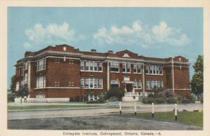COLLINGWOOD , Ontario, 1930s ; Collegiate institute #3