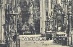 Wien, Vienna Austria, Österreich Inneres der Dom  Inneres der Dom