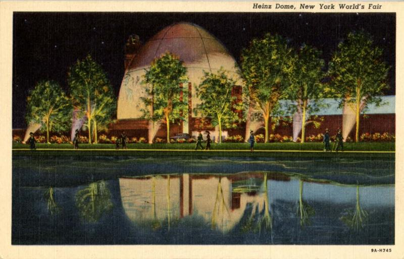 NY - New York World's Fair, 1939. Heinz Dome