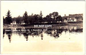 RPPC, Gale's Cabins, Piercefield NY