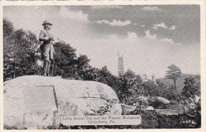 Pennsylvania Gettysburg Little Round Top and Warren Monument Dexter Press