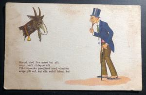 Mint Finland Comic Picture Postcard Do You Think You Are Beautiful