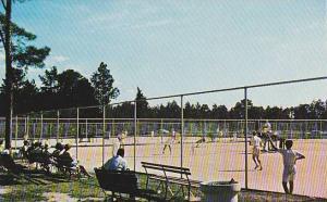 Tennis Matches at the Pinehurst Country Club, North Carolina, 1940-1960s