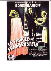 La Fiancee de Frankenstein, Boris Karloff Movie French