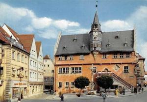 Ochsenfurt am Main Rathaus Town Hall Street Promenade