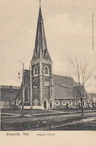 PRESCOTT , Ontario , Canada , 1900-10s ; English Church