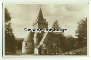cu2027 - Crathie Church from the Rear, in Balmoral - Postcard