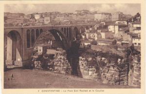 Le Pont Sidi Rached Et Le Coudiat, Constantine, Algeria, Africa, 1900-1910s