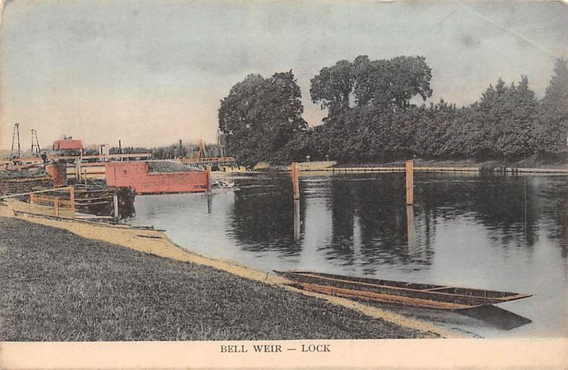 England Bell Weir Lock