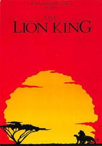 The Lion King Movie Poster Postcard