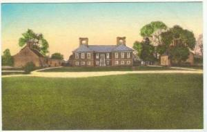 Stratford Hall, Westmoreland County, Virginia, PU-1936