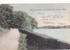 MENDON, Massachusetts ,PU-1910; Along the Roadway, Lake Nipmuc Park