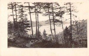 Harrison Idaho Lake Coeur d Alene Scenic View Real Photo Postcard AA21057