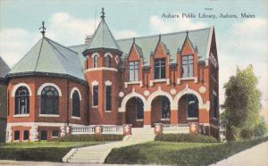 Public Library , AUBURN, Maine , 00-10s