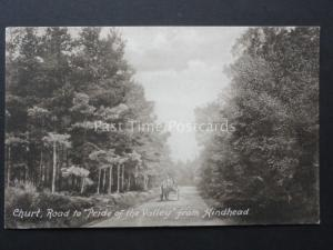 Surrey: CHURT Road to PRIDE OF THE VALLEY from Hindhead - Old PC by W.Rollason