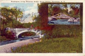 WASHINGTON IRVING MEMORIAL BRIDGE SLEEPY HOLLOW TARRYTOWN, NY 1934