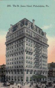 PHILADELPHIA, Pennsylvania, 1913; The St. James Hotel