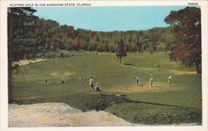 Florida Playing Golf In The Sunshine State