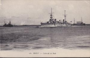 BREST, Finistere, France; Cuirasses en Rade, Warship, 00-10s