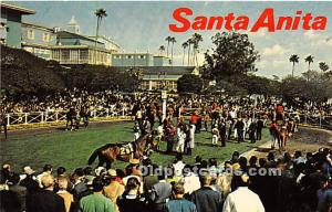 Santa Anita Park Arcadia, California, CA, USA Unused