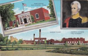 OLD HICKORY , Tennessee , 1930-40s ; Post Office & Dupont Plant