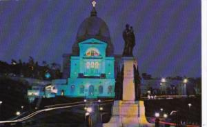 Canada Saint Joseph's Statue and Oratory Of Mount Royal At Night Montreal Quebec