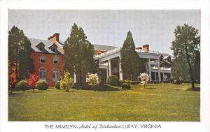 7695   VA Luray The Mimslyn Hotel