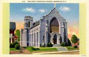 NC - Asheville. First Christian Church