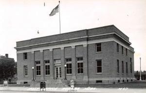 Aurora Nebraska Post Office Real Photo Antique Postcard K59665
