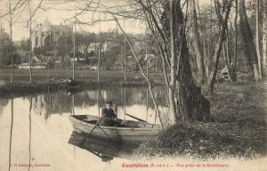CPA COURTALAIN - Vue prise de la Boisvinerie (131594)