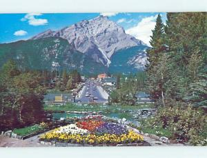 Unused Pre-1980 TOWN VIEW SCENE Banff Alberta AB p8946-12