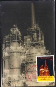 curacao, N.A., 50 Years SHELL Oil on Curacao (1915-1965) RPPC (2)