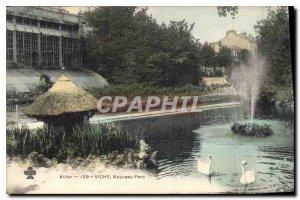 Postcard Old Allier New Park