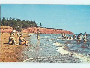 Pre-1980 TOWN VIEW SCENE Keppoch Beach Prince Edward Island PE p9778