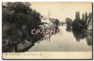 Old Postcard Luneville View Vezouse