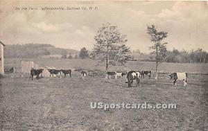On the Farm Jeffersonville NY 1910