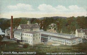 PLYMOUTH , Massachusetts, 1901-07 ; Standish Worstead Co